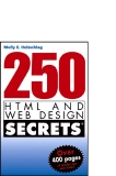 250 html and web design secrets phần 1