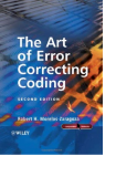 The Art of Error Correcting Coding phần 1