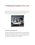 Hệ thống phun xăng điện tử trên xe máy
