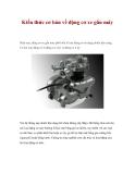 Kiến thức cơ bản về động cơ xe gắn máy