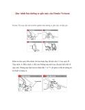 Quy trình bảo dưỡng xe gắn máy của Honda Vietnam