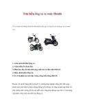 Tìm hiểu ống xả xe máy Honda