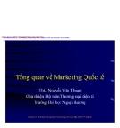 Tổng quan về marketing căn bản