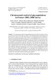 "Báo cáo sinh học: "" Chromosomal control of pig populations in France: 2002–2006 survey"""