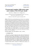 """Báo cáo sinh học: """"Chromosomal mapping, differential origin and evolution of the S100 gene family"""""""