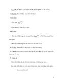 Bài 3: ĐẠO HÀM CỦA CÁC HÀM SỐ LƯỢNG GIÁC (tiết 9)