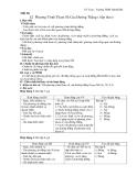 Tiết 30 §2 Phương Trình Tham Số Của Đường Thẳng ( tiếp theo)