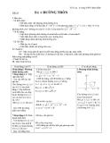 Tiết 34  Bài 4 ĐƯỜNG TRÒN