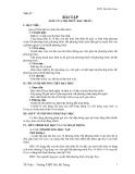 Tiết: 52  BÀI TẬP (DẤU CỦA NHỊ THỨC BẬC NHẤT)
