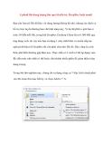 Upload file dung lượng lớn qua SkyDrive, DropBox hoặc email Bạn cần lưu trữ file dữ