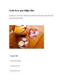 Soda hoa quả thập cẩm
