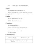 GIÁO ÁN MÔN TIN HỌC LỚP 6 - BÀI 2