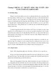 GIÁO TRÌNH SÓNG GIÓ ( VŨ THANH CA ) - CHƯƠNG 4