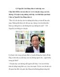 GS Nguyễn Lân Dũng chia sẻ cách dạy con