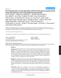 """Báo cáo y học: """"A comprehensive transcript index of the human genome generated using microarrays and computational approaches"""""""