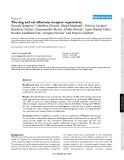 "Báo cáo y học: ""The dog and rat olfactory receptor repertoires"""