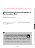 """Báo cáo y học: """"Conservation versus variation of dinucleotide frequencies across genomes: Evolutionary implications"""""""
