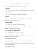 Tiết 85-86 : ÔN TẬP CHƯƠNG ĐẠO HÀM
