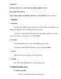 Chương II: ĐƯỜNG THẲNG VÀ MẶT PHẲNG TRONG KHÔNG GIAN QUAN HỆ SONG SONG