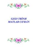 GIÁO TRÌNH MATLAB CƠ BẢN