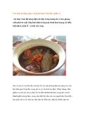 Các món ăn hàng ngày trong ẩm thực Nam Bộ ( phần 1) Ẩm thực Nam Bộ mang đậm