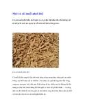 Nhớ củ cải muối phơi khô