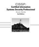 CISSP: Certified Information Systems Security Professional Study Guide 2nd Edition phần 1