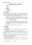 Giáo trình kỹ thuật số ( Chủ biên Võ Thanh Ân ) - Chương 5