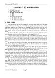 Giáo trình kỹ thuật số ( Chủ biên Võ Thanh Ân ) - Chương 7