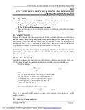 Bài giảng thực hành xử lý nước thải ( Th.s. Lâm Vĩnh Sơn ) - Bài 5
