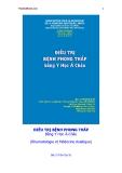 Điều trị bệnh phong thấp bằng Y Học Á Châu ( Trần Đại Sỹ ) - Phần 1