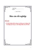 Luận văn: Các biện pháp nhằm nâng cao hiệu quả sử dụng vốn lưu động tại Công ty xuất nhập khẩu máy Hà Nội