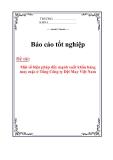 Đề án tốt nghiệp: Một số biện pháp đẩy mạnh xuất khẩu hàng may mặc ở Tổng Công ty Dệt May Việt Nam
