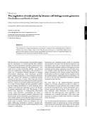 """Báo cáo y học: """"The regulation of endocytosis by kinases: cell biology meets genomic"""""""