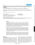 """Báo cáo y học: """"s mammalian chromosomal evolution driven by regions of genome fragility"""""""