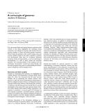 """Báo cáo y học: """" cornucopia of genomes."""""""