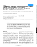 """Báo cáo y học: """"The Inferelator: an algorithm for learning parsimonious regulatory networks from systems-biology data sets de novo"""""""