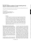 "Báo cáo y học: ""Arrestins: ubiquitous regulators of cellular signaling pathways"""