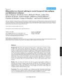 "Báo cáo y học: ""Alternative ion channel splicing in mesial temporal lobe epilepsy and Alzheimer's disease"""