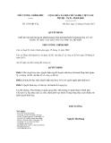 Quyết định số 1785/QĐ-TTg