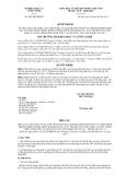 Quyết định số 3057/QĐ-BKHCN