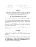 Quyết định số 3060/QĐ-BKHCN