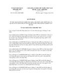 Quyết định số 1531/2011/QĐ-UBND