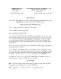 Quyết định số 1852/2011/QĐ-UBND