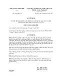 Quyết định số 1855/QĐ-TTg