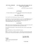 Quyết định số 1865/QĐ-TTg