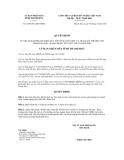 Quyết định số 3238/2011/QĐ-UBND