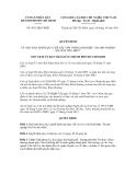 Quyết định số 4813/QĐ-UBND
