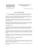 CHƯƠNG TRÌNH PHỐI HỢP SỐ 12/CTrPH-MTTW-BVHTTDL