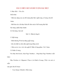 Giáo án Tin Học Văn Phòng: BÀI 12 CHÈN MỘT SỐ ĐỐI TƯỢNG ĐẶC BIỆT